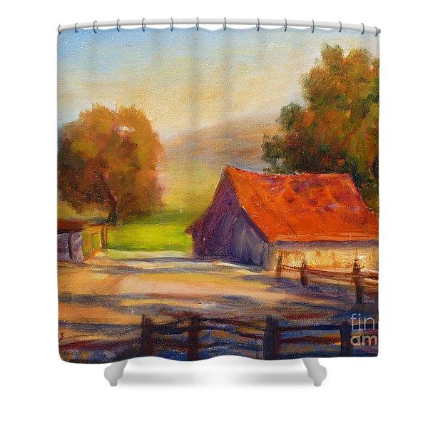 California Barn Shower Curtain