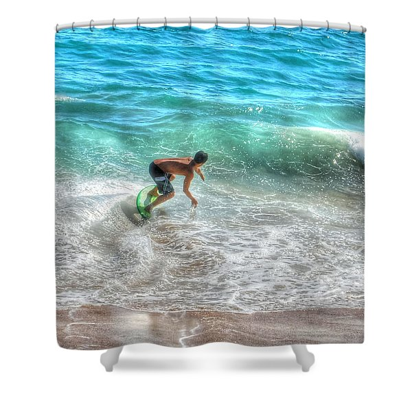 California Boogie Shower Curtain