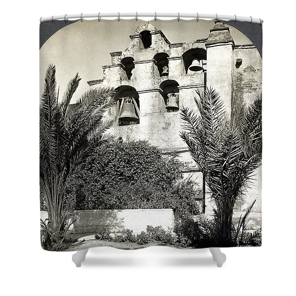 California Mission, C1909 Shower Curtain
