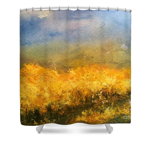 California Orchards Shower Curtain