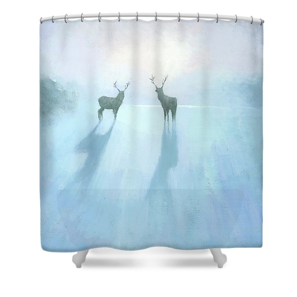 Call Of The Arctic Shower Curtain