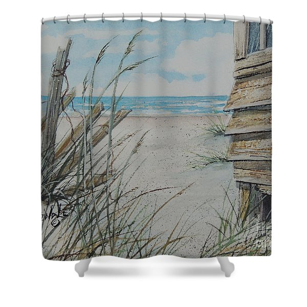 Calling Me Sold  Shower Curtain