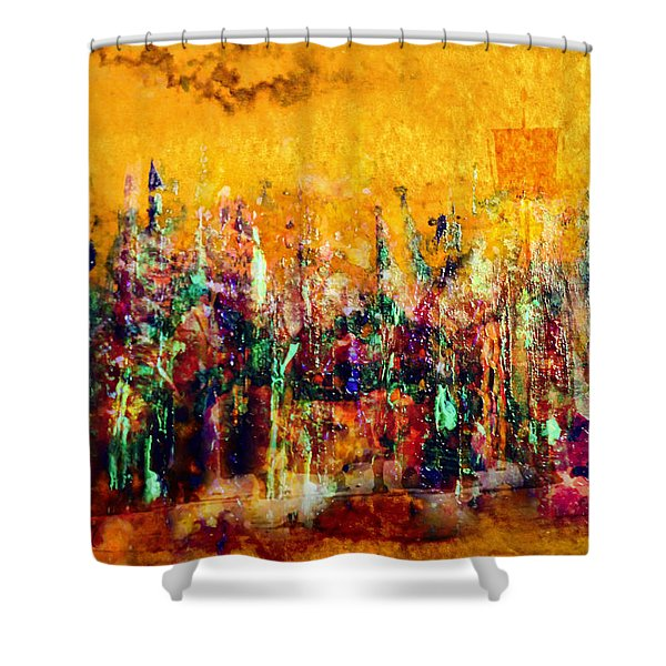 Camaraderie  Shower Curtain