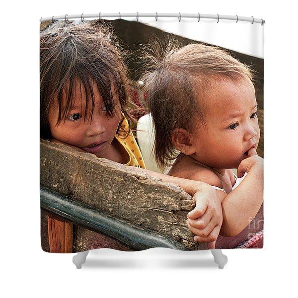 Cambodian Children 03 Shower Curtain