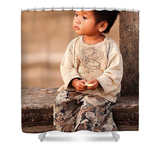Cambodian Girl 02 Shower Curtain
