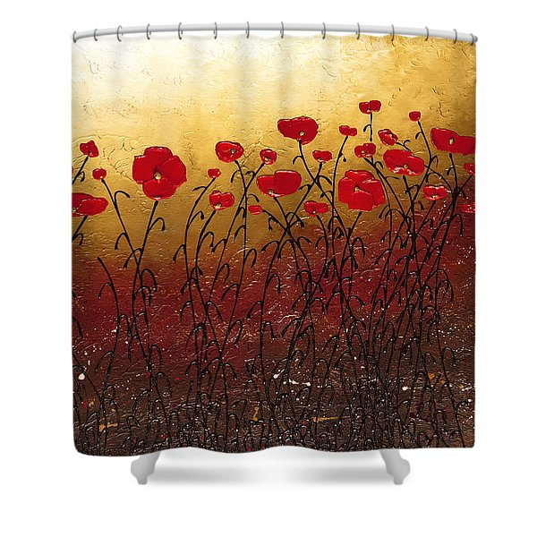 Campo Florido Shower Curtain