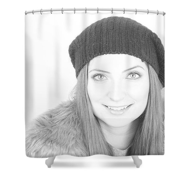 Can Eyes Also Smile Shower Curtain