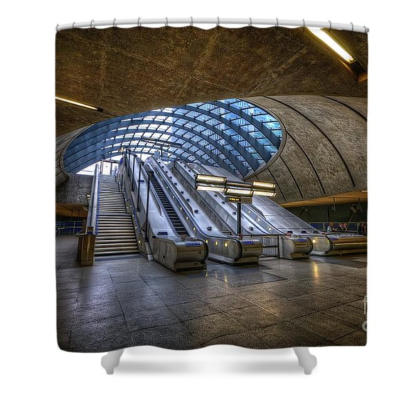 Canary Wharf 1.0 Shower Curtain