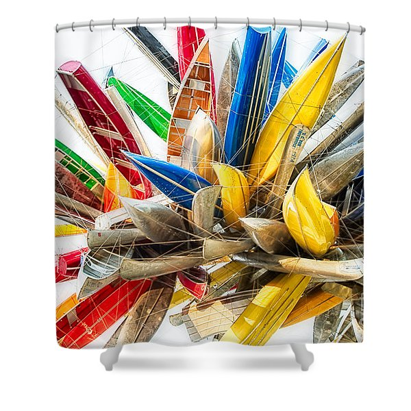 Canoe Art II Shower Curtain