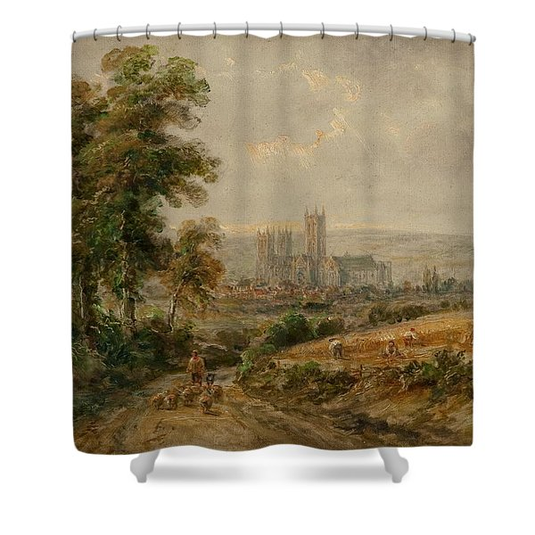 Canterbury Cathedral Shower Curtain