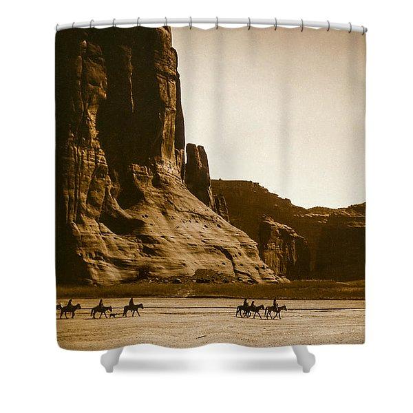 Canyon De Chelly Circa 1904 Shower Curtain
