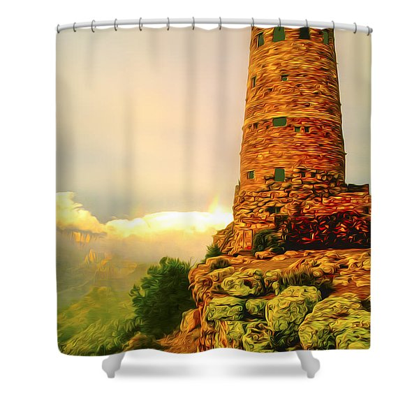 Canyon Gifts Shower Curtain