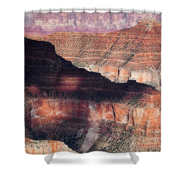 Canyon Layers Shower Curtain