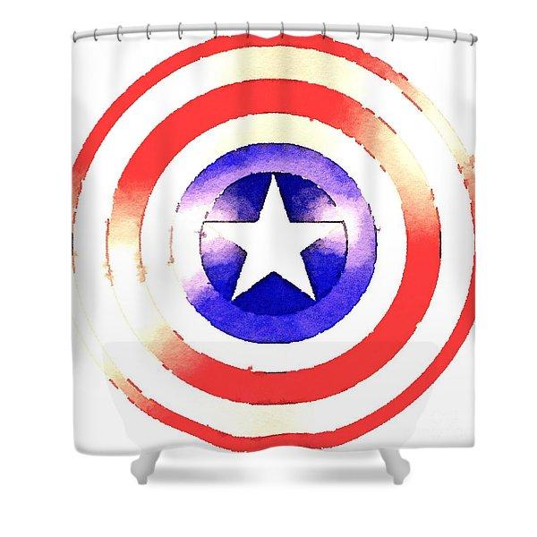 Cap Am Shield Shower Curtain