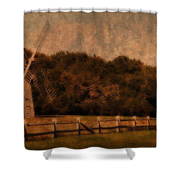 Cape Cod Windmill Shower Curtain