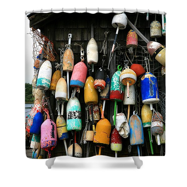Cape Neddick Lobster Pound Shower Curtain