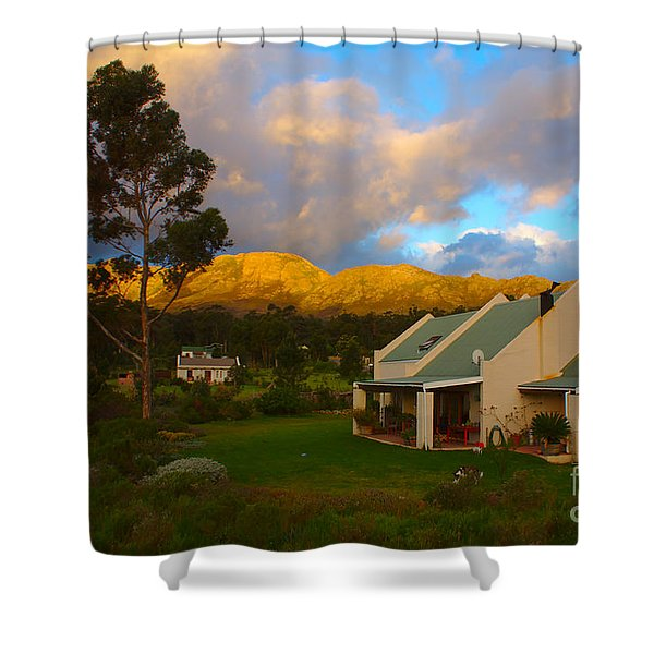 Shower Curtain featuring the photograph Cape Sunset by Jeremy Hayden