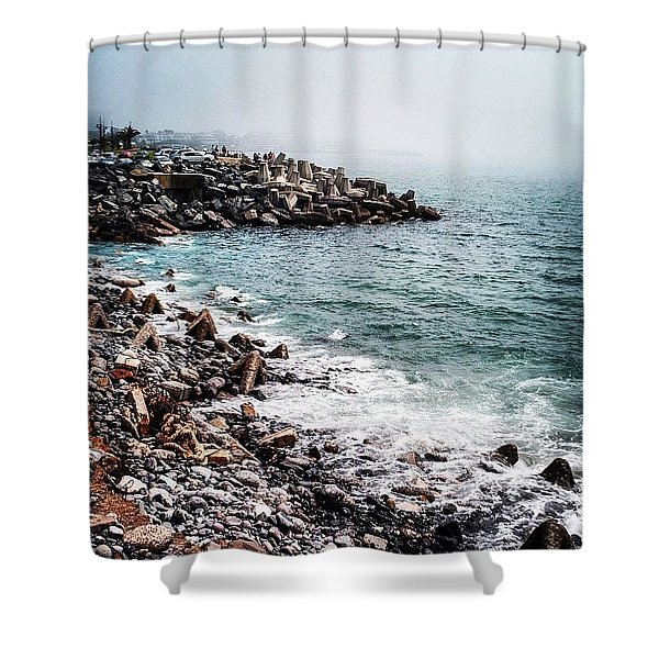 Cape Town, South Africa Shower Curtain