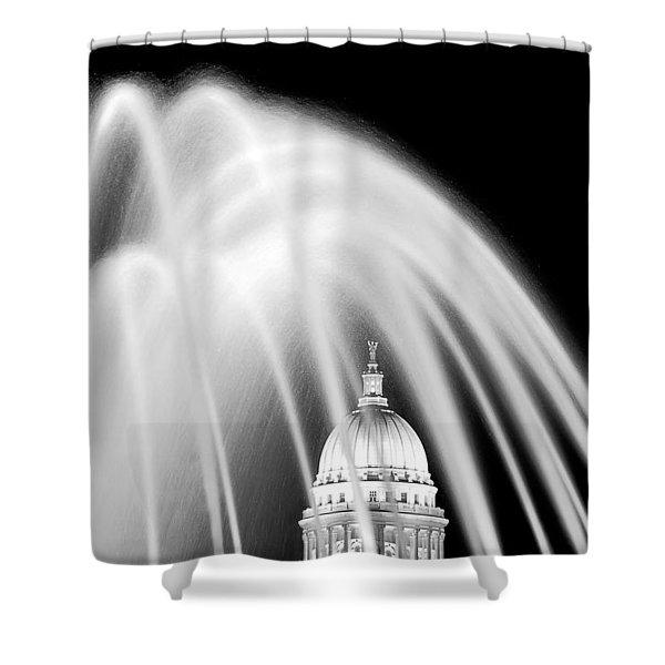 Capitol Fountain Shower Curtain