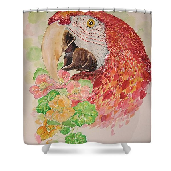 Captain's Snack Shower Curtain