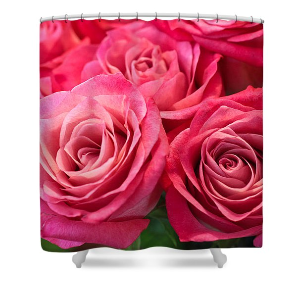 Capturing A Bouquet Shower Curtain