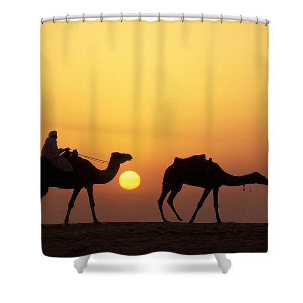 Caravan Morocco Shower Curtain