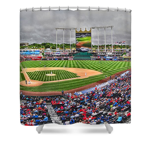 Cardinals At The K Shower Curtain