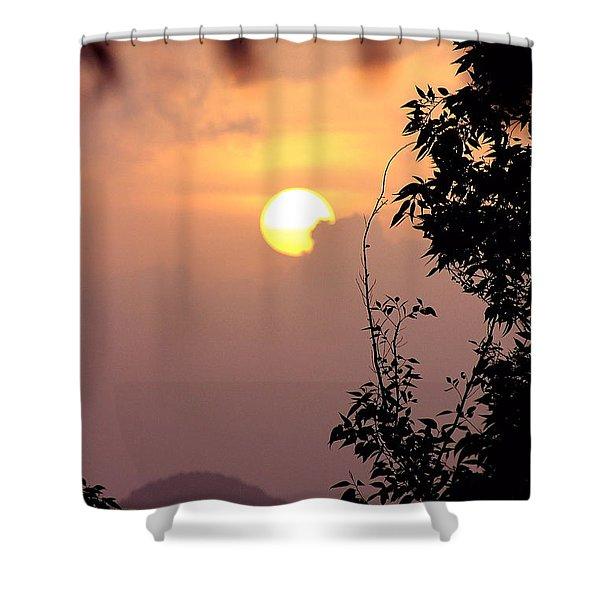 Caribbean Summer Solstice  Shower Curtain