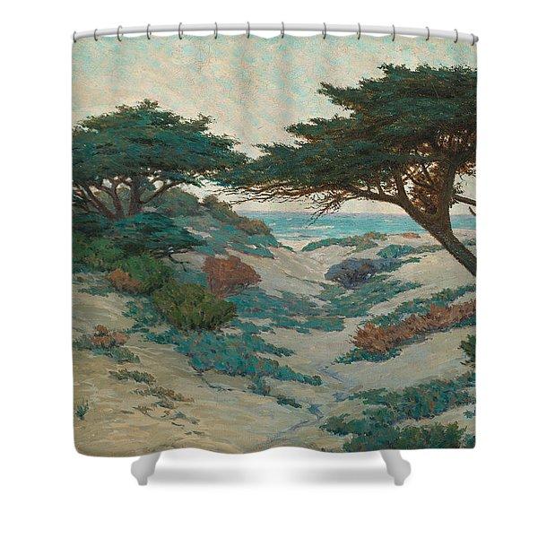 Carmel Coast Shower Curtain