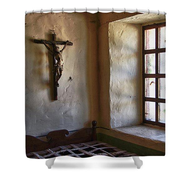 Carmel Mission 4 Shower Curtain