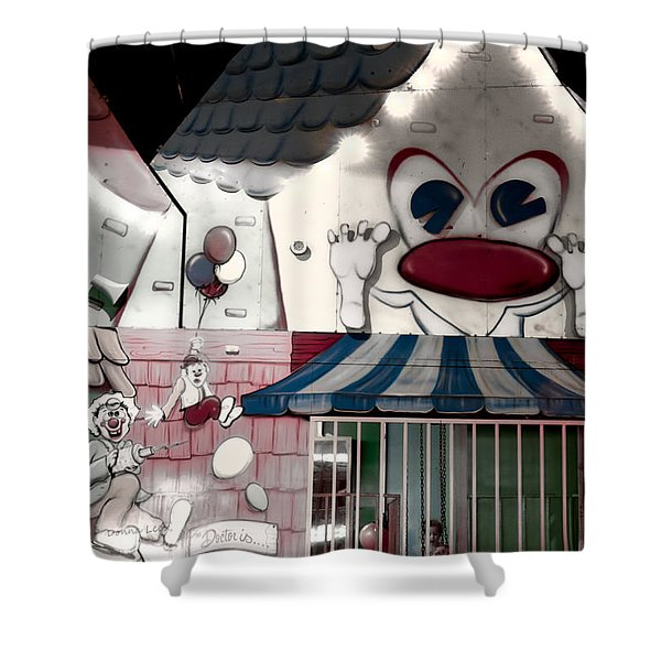 Carnival Fun House Shower Curtain