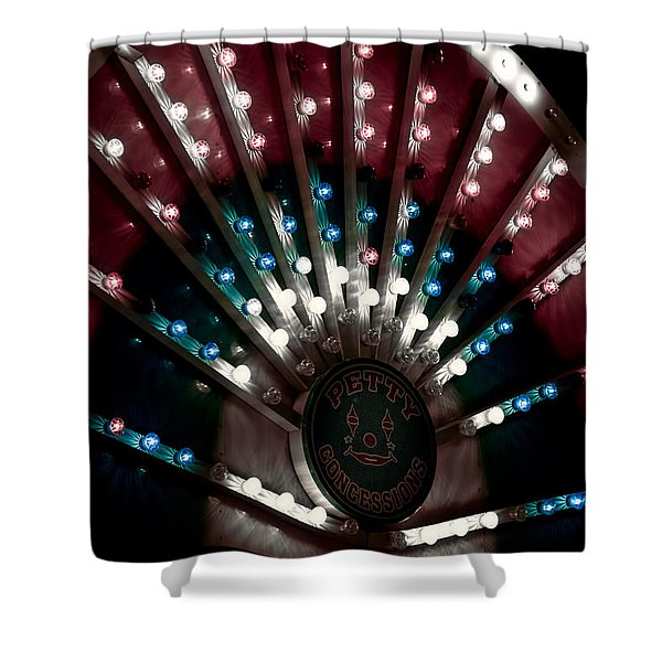 Carnival Lights Shower Curtain
