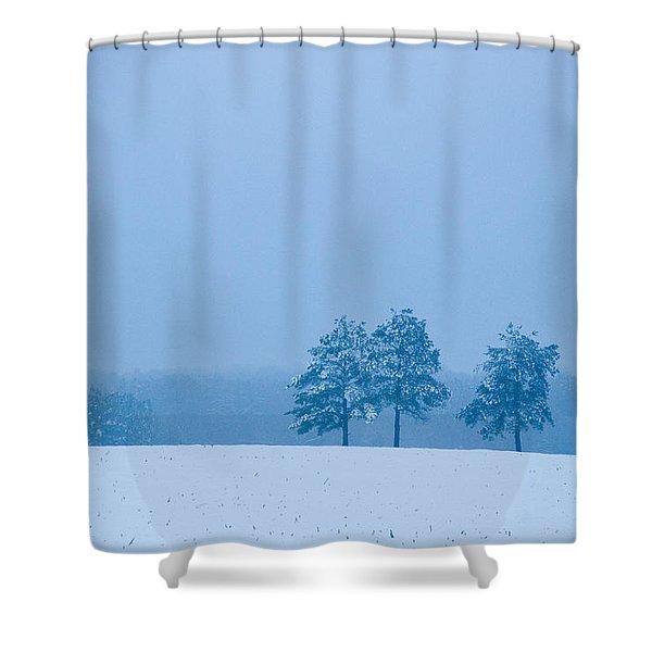 Carolina Snow Shower Curtain