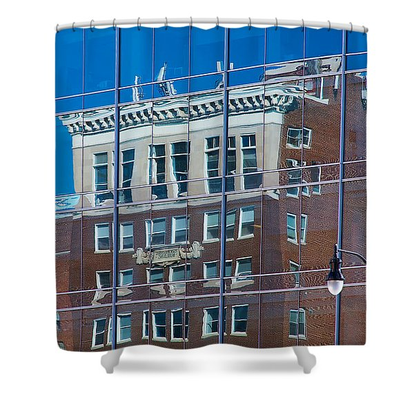 Carpenters Building Shower Curtain