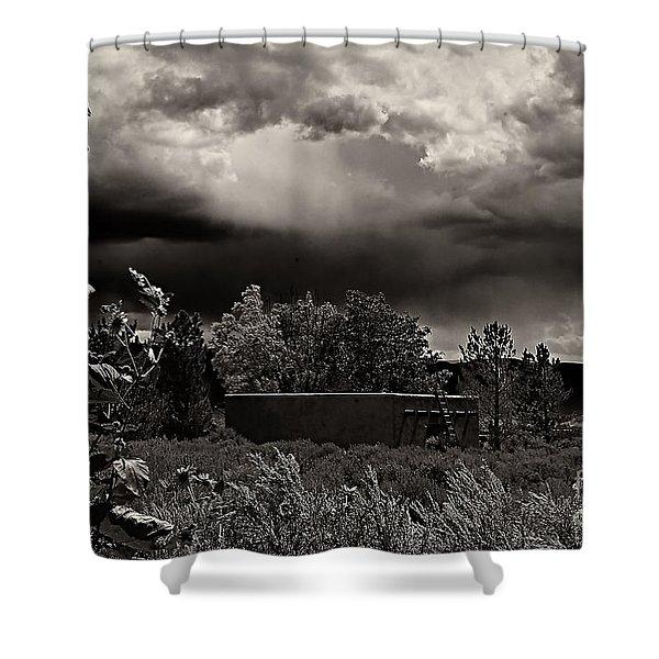 Casita In A Storm Shower Curtain