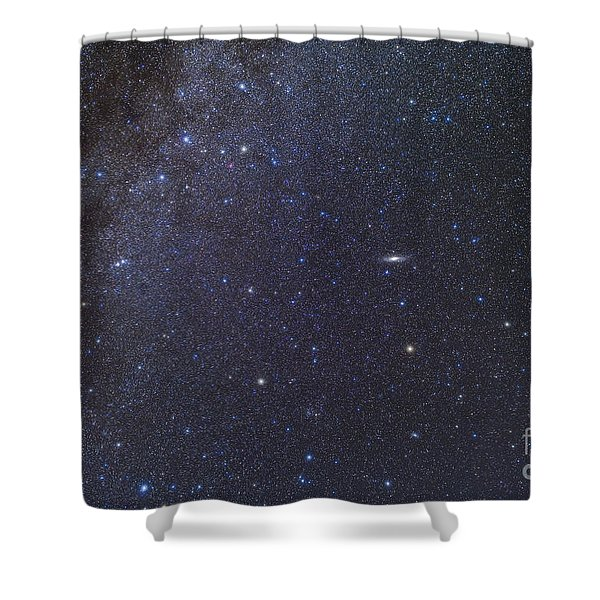 Cassiopeia, Perseus And Andromeda Area Shower Curtain