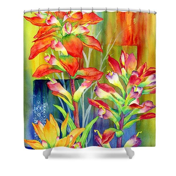 Castilleja Indivisa Shower Curtain