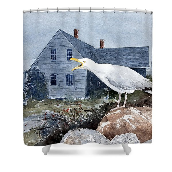 Castine Call Shower Curtain