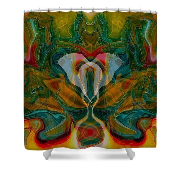 Casting Spells Shower Curtain