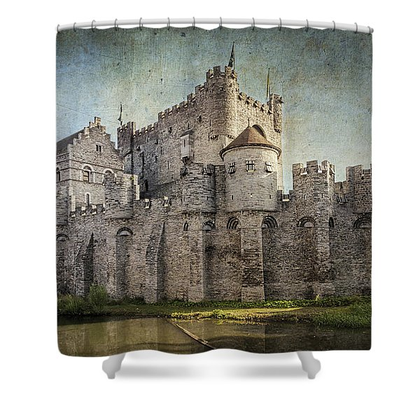 Castle Of The Counts Shower Curtain