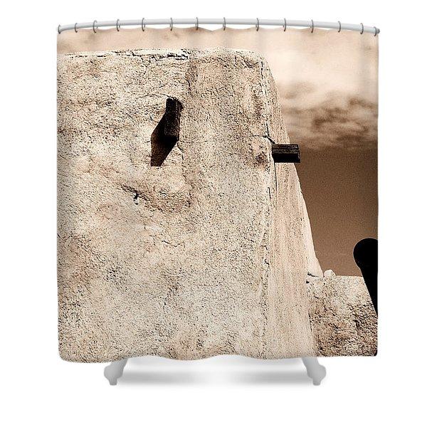 Castolon Adobe Ghost Shower Curtain