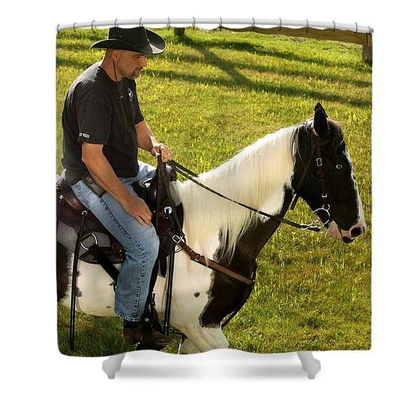 Casual Ride Shower Curtain