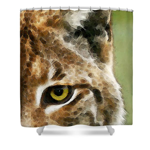 Cat Art - Lynx 2 Shower Curtain
