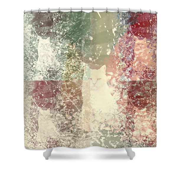 Cat Heaven Shower Curtain