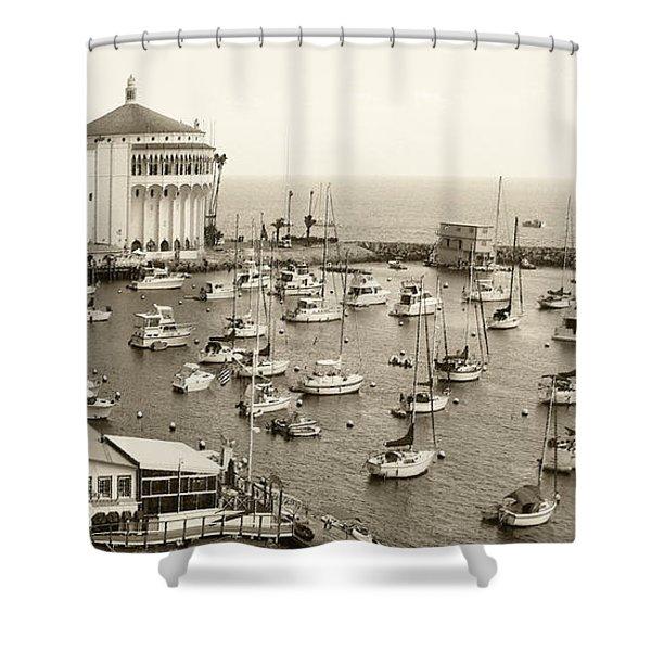 Catalina Island. Avalon Shower Curtain
