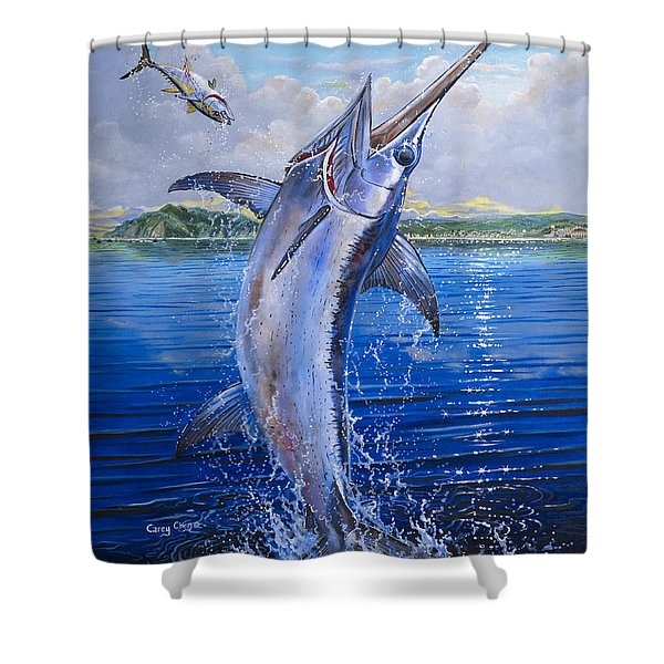 Catalina Sword Off0045 Shower Curtain