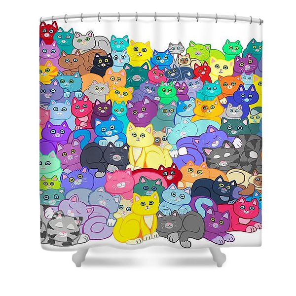 Catastrophy Shower Curtain