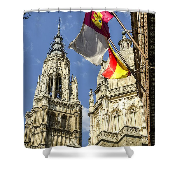 Catedral De Santa Maria De Toledo Shower Curtain