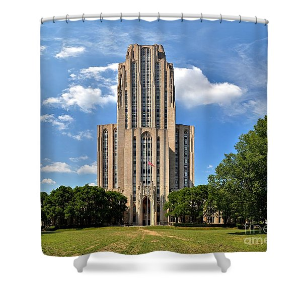 Cathedral Of Learning Pittsburgh Pa Shower Curtain