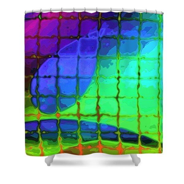 Caught In My Color Net On Venus Shower Curtain